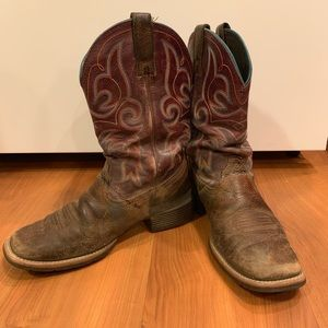 Ariat Hybrid Rancher Western Distressed Boot